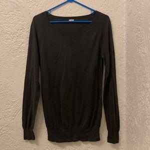 J Crew Charcoal Crew neck Sweater Medium